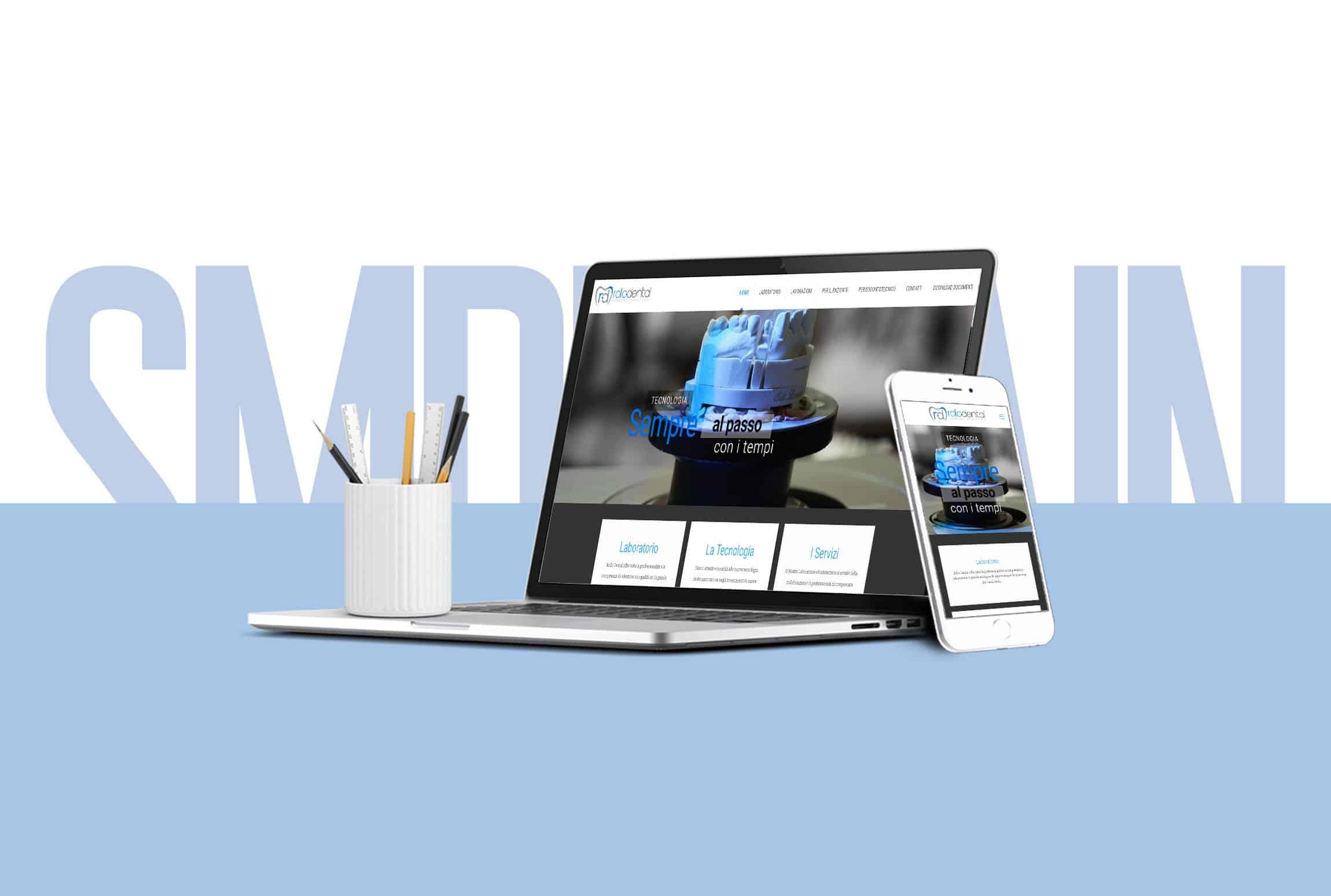 Sito internet studio odontotecnico rollo dental for Logo sito web